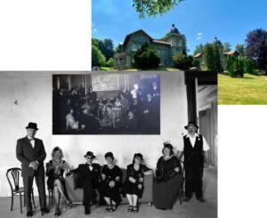 Živý obraz v Hücklových vilách